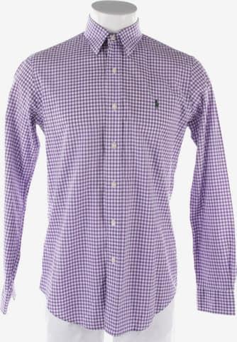Polo Ralph Lauren Freizeithemd / Shirt / Polohemd langarm in S in Lila