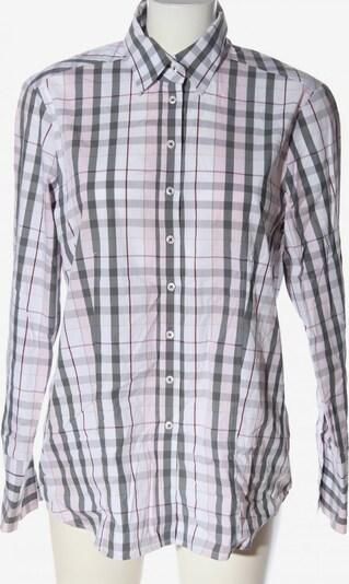 ETERNA Holzfällerhemd in XL in hellgrau / pink / weiß, Produktansicht