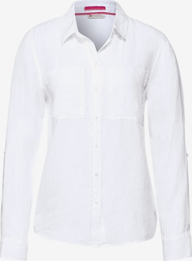 STREET ONE Bluse in offwhite, Produktansicht