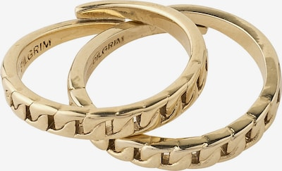 Pilgrim Ring 'Online Exclusive Haven' in gold, Produktansicht