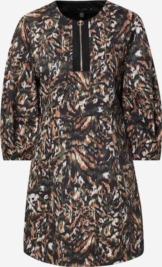 Ted Baker Sukienka 'Holiiy' w kolorze brązowy / ciemnozielony / czarny / białym, Podgląd produktu