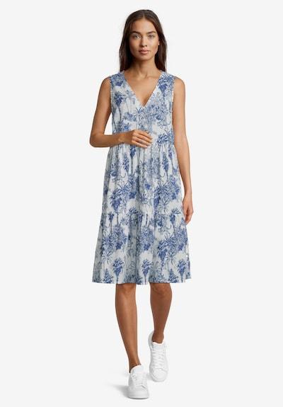 Vera Mont Stufenkleid im Boho Style in creme / blau, Modelansicht