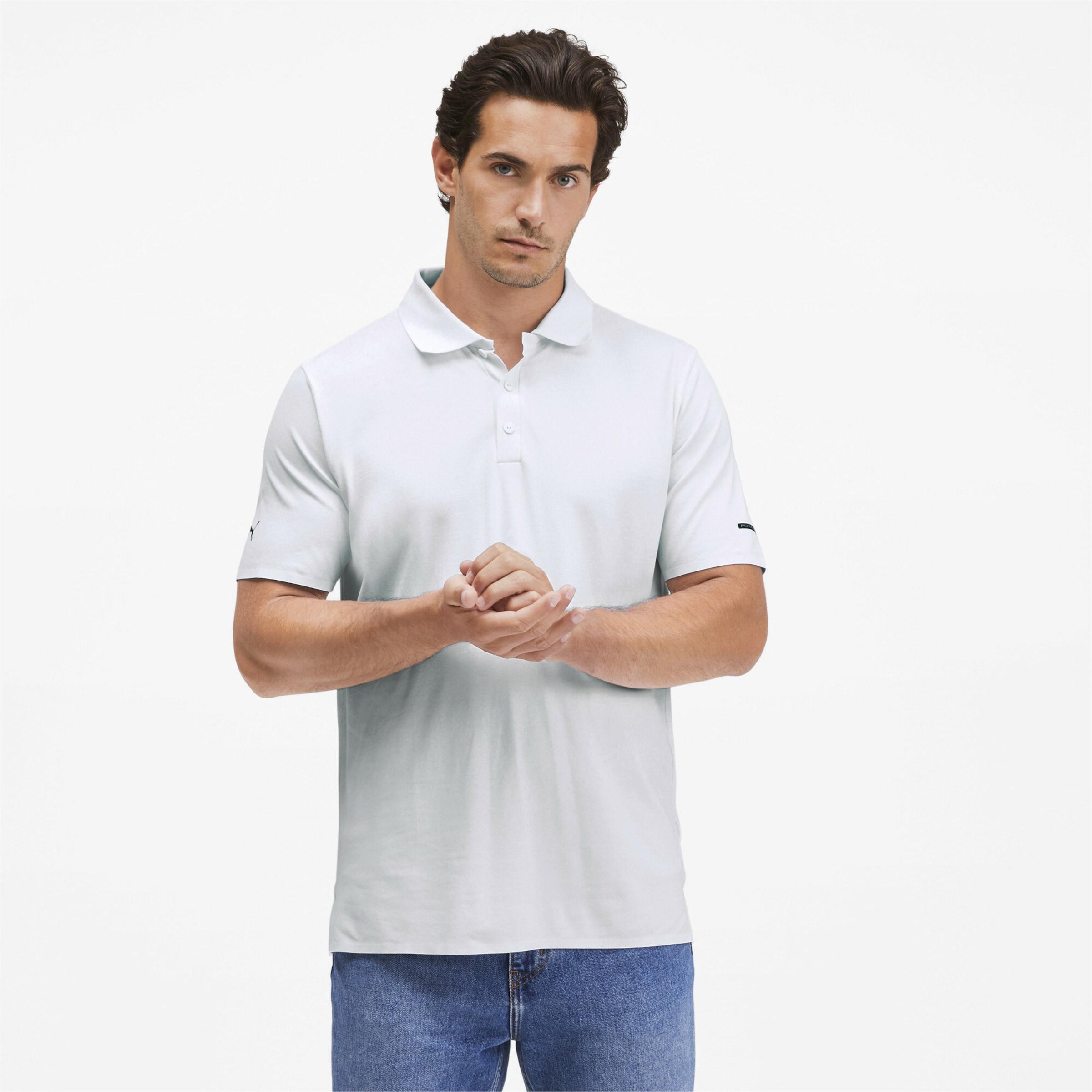 PUMA Porsche Design Herren Polo in weiß Synthetik 4062449486728