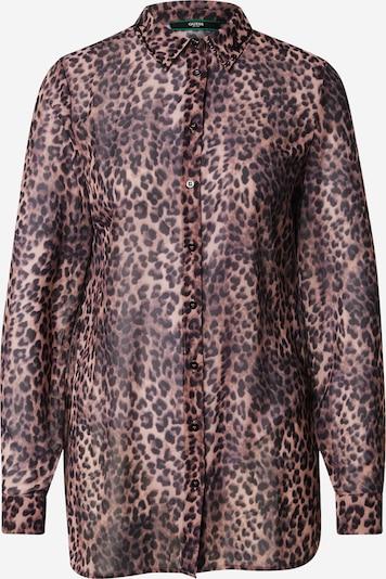 GUESS Bluse in braun / schwarz, Produktansicht