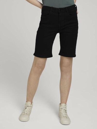 TOM TAILOR DENIM Džíny - černá džínovina, Model/ka