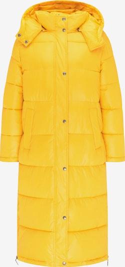 MYMO Wintermantel in de kleur Goudgeel, Productweergave