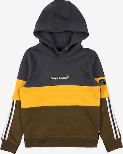 VINGINO Sweatshirt 'Nolasto' in nachtblau / gelb / khaki / mint / weiß, Produktansicht