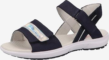 SUPERFIT Sandale 'RAINBOW' in Blau