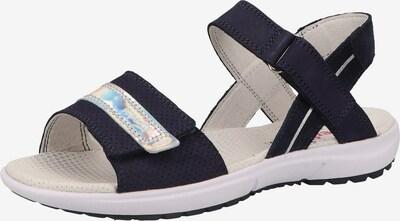 SUPERFIT Sandale 'RAINBOW' in nachtblau / silber, Produktansicht