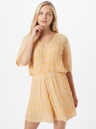 Salopeta 'Andine' Samsoe Samsoe pe galben / alb, Vizualizare model