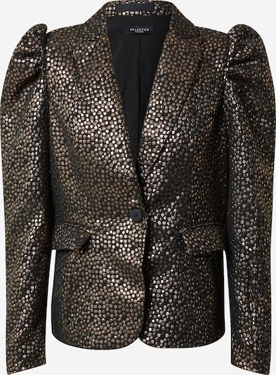 SELECTED FEMME Blazers 'Gee' in de kleur Goud / Zwart, Productweergave