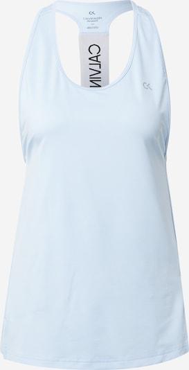 Sportiniai marškinėliai be rankovių iš Calvin Klein Performance, spalva – azuro spalva, Prekių apžvalga