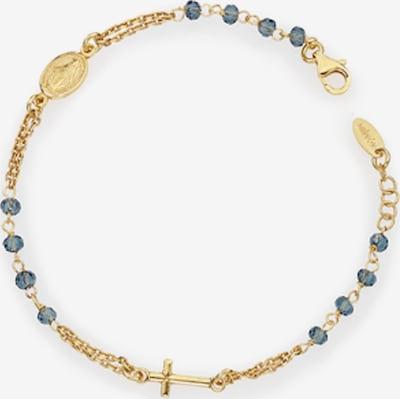 Amen Armband in blau / gold, Produktansicht