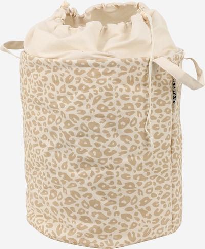 ABOUT YOU Wäschekorb 'Comfy S'  (38 L x 38 B x 43 H) in beige, Produktansicht
