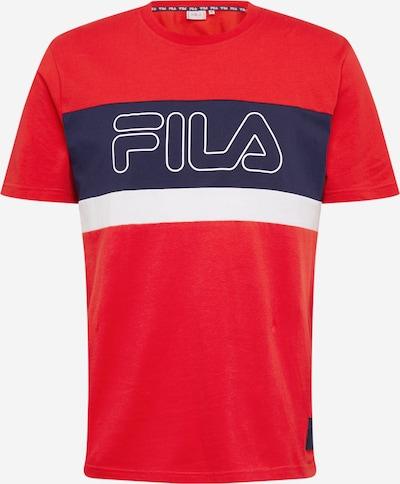 FILA Shirt 'LAURENS' in de kleur Vuurrood / Zwart / Wit, Productweergave