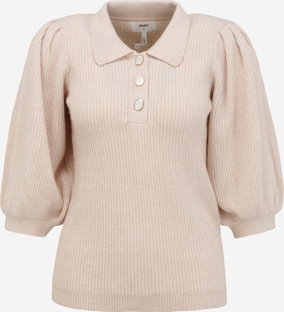 OBJECT Petite Pullover 'SIBYL' in sand, Produktansicht