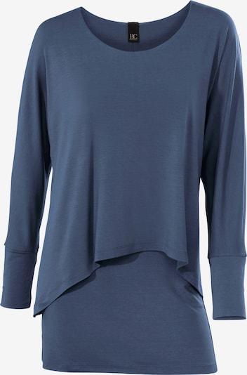 heine Rundhalsshirt in blue denim, Produktansicht