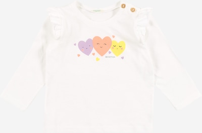 UNITED COLORS OF BENETTON Camiseta en amarillo / lila / altrosa / blanco, Vista del producto