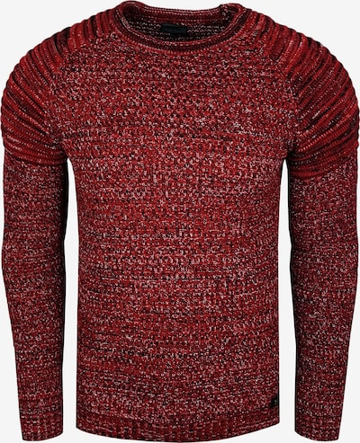 Rusty Neal Pullover in rot, Produktansicht