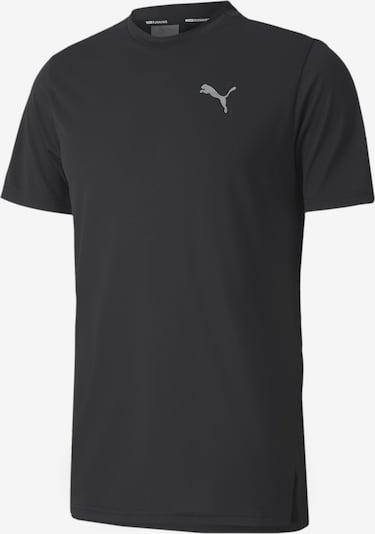 PUMA Functioneel shirt in de kleur Zwart: Vooraanzicht