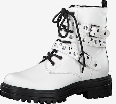 s.Oliver Stiefelette in weiß, Produktansicht