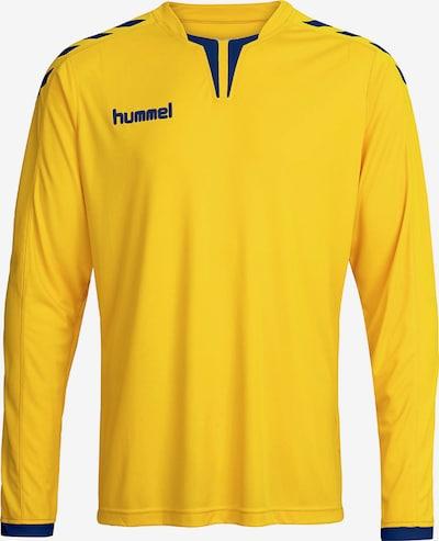 Hummel Funktionsshirt in navy / gelb, Produktansicht