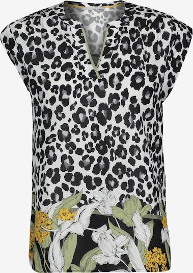Betty & Co Blusentop ohne Arm in schwarz / weiß, Produktansicht