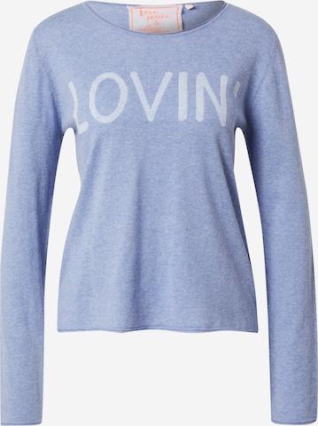 LIEBLINGSSTÜCK Sweater 'Alette' in Blue