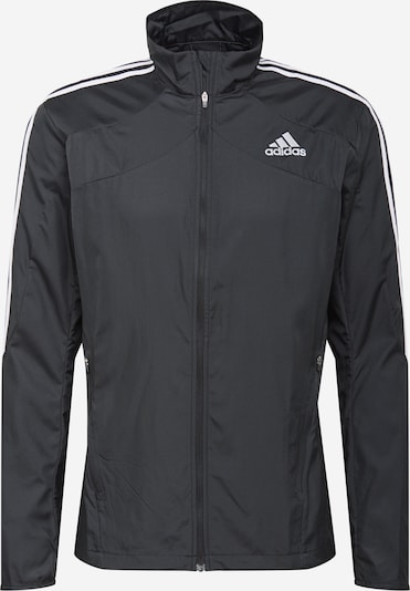 ADIDAS PERFORMANCE Športová bunda 'Response' - čierna / biela, Produkt
