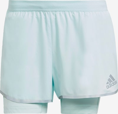 ADIDAS PERFORMANCE Sportbroek 'Adizero' in de kleur Mintgroen / Zilver, Productweergave