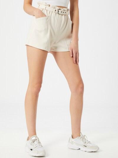 Pantaloni 'Maro' Pimkie pe alb, Vizualizare model