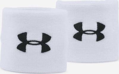 UNDER ARMOUR Schweißband in schwarz / weiß, Produktansicht