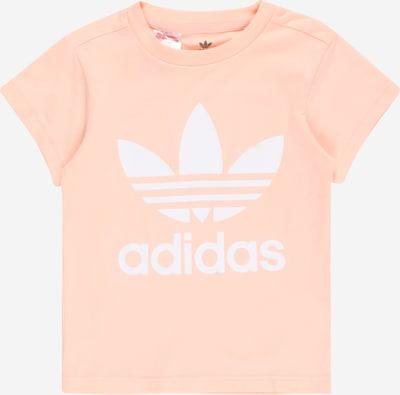 ADIDAS ORIGINALS Shirt in rosa / weiß, Produktansicht