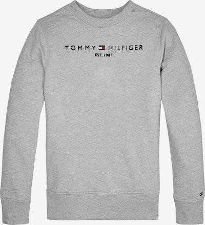 Bluză de molton TOMMY HILFIGER pe albastru noapte / gri amestecat / roșu / alb, Vizualizare produs