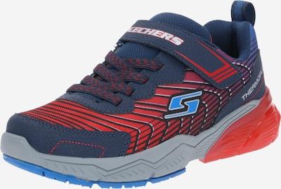 SKECHERS Sneakers i navy / lys rød, Produktvisning