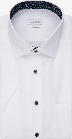 SEIDENSTICKER Business Hemd ' Regular ' in Weiß