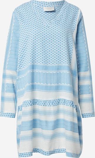Cecilie Copenhagen Kleid in blau / weiß, Produktansicht