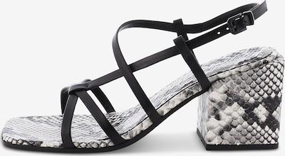 Kennel & Schmenger Sandale 'CALI' in grau / schwarz, Produktansicht