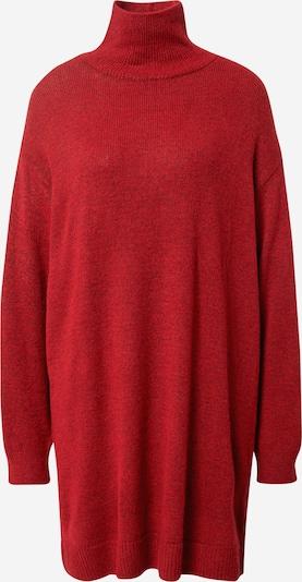 NA-KD Strikkekjole i rødmelert, Produktvisning