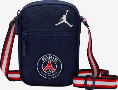 Jordan Sporttasche in dunkelblau / rot / weiß, Produktansicht