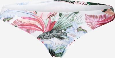 Hunkemöller Bas de bikini 'Palm Springs' en mélange de couleurs / blanc, Vue avec produit