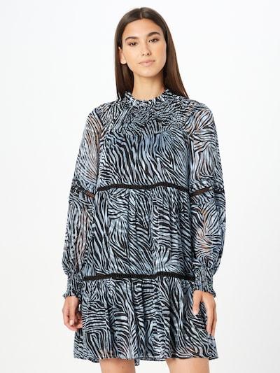 MICHAEL Michael Kors Šaty 'ZEBRA TENTY' - modrá / černá / bílá, Model/ka