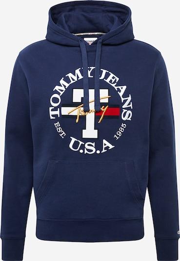 Tommy Jeans Sweat-shirt en bleu foncé / rouge / blanc, Vue avec produit