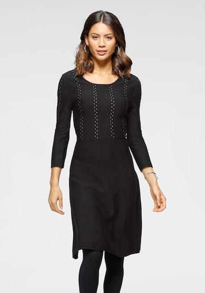 LAURA SCOTT Dress in Black / White, View model