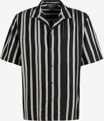 khujo Hemd ' Patrik ' in beige / schwarz, Produktansicht