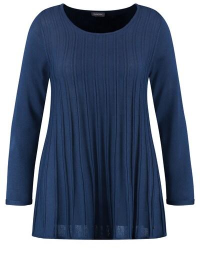 SAMOON Pullover in kobaltblau, Produktansicht