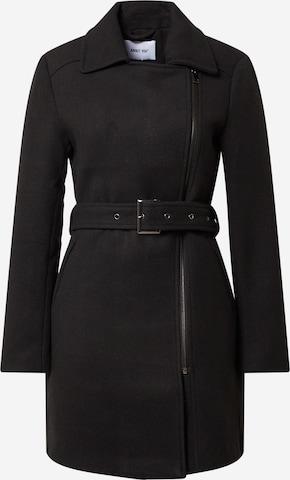 ABOUT YOU Ανοιξιάτικο και φθινοπωρινό παλτό 'Meike' σε μαύρο