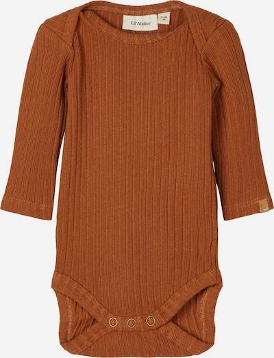 NAME IT Pijama entero/body en marrón, Vista del producto