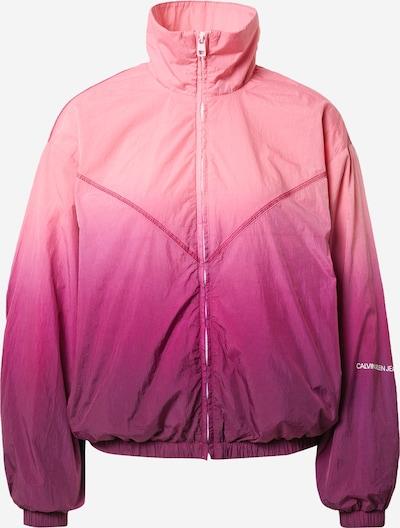 Calvin Klein Jeans Jacke in lila / helllila / dunkellila, Produktansicht