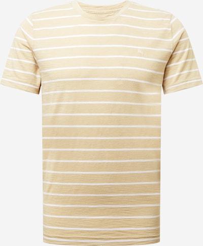 Abercrombie & Fitch Shirt in de kleur Beige / Lichtbeige / Wit, Productweergave